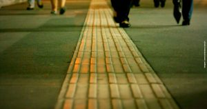 Nova regra sobre o uso de piso tátil nas calçadas de Belo Horizonte já está em vigor