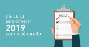 Checklist para começar o ano com o pé direito